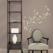 Silver Dollar Branch Giant Wall Stickers