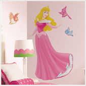 Disney Sleeping Beauty Jeweled Giant Wall Sticker
