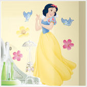 Disney Snow White Jeweled Giant Wall Sticker