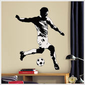 Soccer Player Wall Sticker
