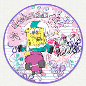 Spongebob Girls Room Custom Wall Decal