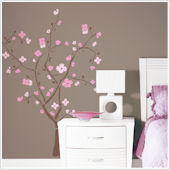 Spring Blossom Tree Giant Wall Decal