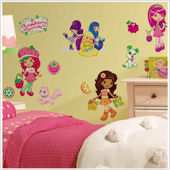 Strawberry Shortcake Peel and Stick Wall Stickers