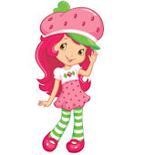 Strawberry Shortcake Giant Peel and Stick Sticker