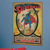 Superman Issue 1 Comic Book Cover Sticker SALE