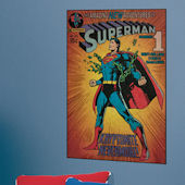 Superman Kryptonite Comic Book Cover Sticker