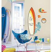 Surfs Up Dry Erase Giant Wall Decals