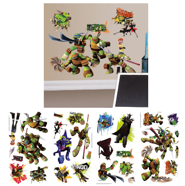 Teenage Mutant Ninja Turtles Wall Decals - Wall Sticker Outlet