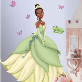 Tiana Princess and The Frog Giant Wall Sticker