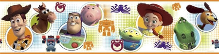 Toy Story 3 Peel and Stick Wall Border - Wall Sticker Outlet