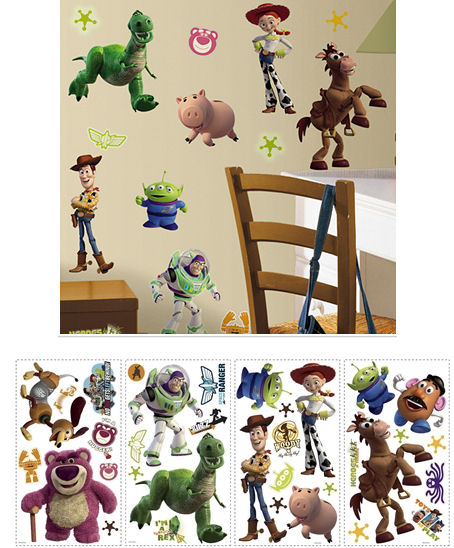 ... toy story 3 wall sticker appliques ...