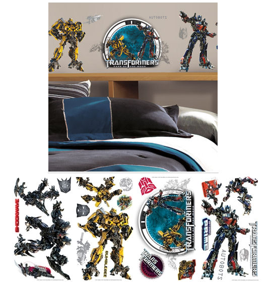 Transformers Dark of the Moon Wall Decals - Wall Sticker Outlet