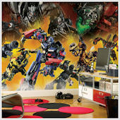 Transformers Giant XL Wall Mural 9 x 15 feet SALE