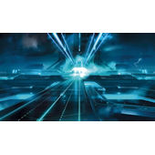 Tron Giant XL Wall Mural 6 x 10