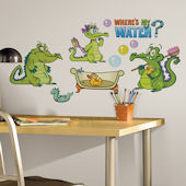 Disneys Wheres My Water Wall Decals
