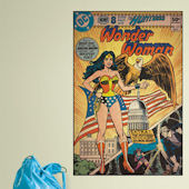 Wonder Woman Comic Book Cover Sticker SALE
