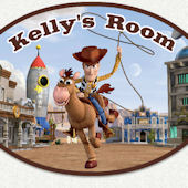 Disney Toy Story Woody Custom Name Wall Decal