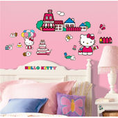 World of Hello Kitty Peel and Stick Appliques