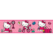 World of Hello Kitty Peel and Stick Wall Border