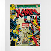 X Men 100 Issue Comic Book Cover Sticker