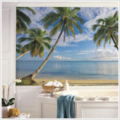 Beach View XL Wall Mural