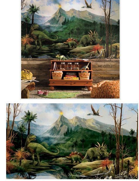 Dinosaur XL Wall Mural - Kids Wall Decor Store
