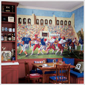 Football Stadium  XL Wall Mural