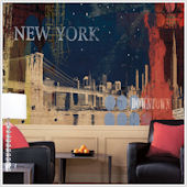 New York Streets  XL Wall Mural
