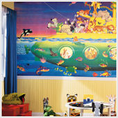 Noahs Submarine XL Wall Mural