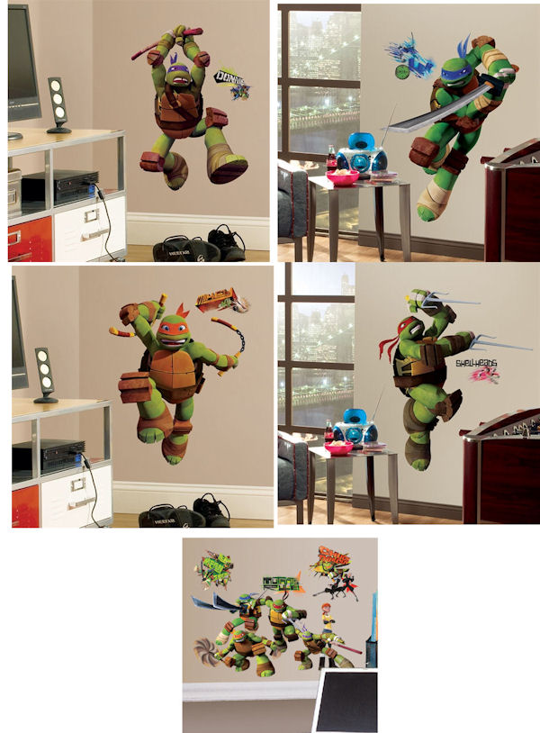 Teenage Mutant Ninja Turtles Room Package #1 - Wall Sticker Outlet