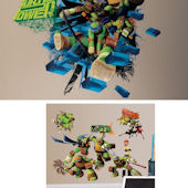 Teenage Mutant Ninja Turtles Room Package #2