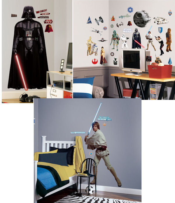 Star Wars Room Package #2 - Wall Sticker Outlet