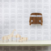 Ferm Living Rush Hour Wallpaper