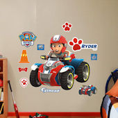Fathead Paw Patrol Ryders ATV Wall Decal