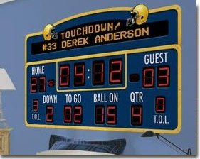 Scoreboard Wall Mural Decal