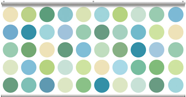 Big Spot Sea Glass Light Minute Mural - Wall Sticker Outlet