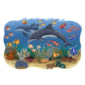 Seascape Peel and Stick Wall Mural