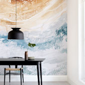 Minted Sediment 1 Repositionable Wall Mural