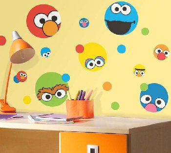 Sesame Street Dot Stickers
