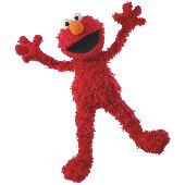 Elmo Wants A Hug Prepasted Cut Out