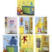 Sesame Street Decals Complete Room Package