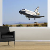 Shuttle Landing Easy Up Mural