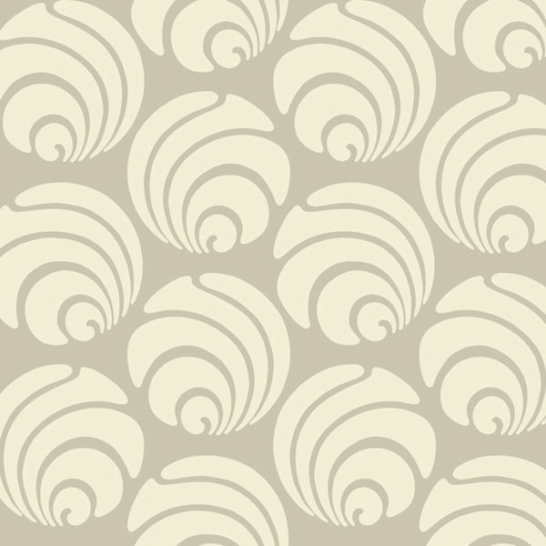 Grey and cream large swirl geo wallpaper for Grey and cream wallpaper