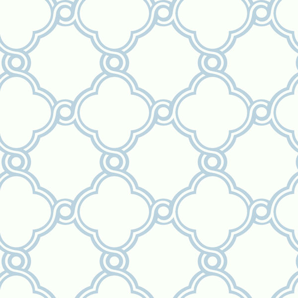 Light Blue With White Open And Wallpaper For Walls