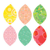 Simple Shapes Spring Leaves Peel and Stick Decals
