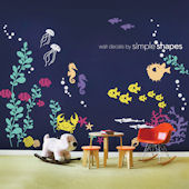 Under the Sea Giant Wall Decals - Multiple Colors
