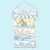 Alfresco Bunny Wall Hanging by Drooz Studio