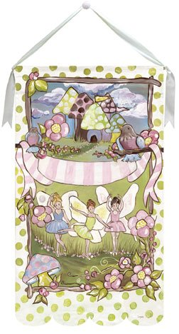 Little Fairy Wall Hanging by Drooz Studio - Kids Wall Decor Store