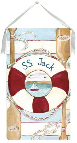 Maritime Wall Hanging by Drooz Studio - Kids Wall Decor Store