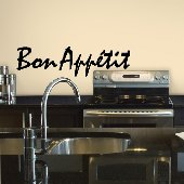 Bon Appetit Self-Stick Home Wall Art